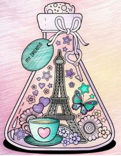 Tus hermosos sueños Colouring Pages, Coloring Books, Different Kinds Of Art, Pretty Art, Drawing S, Easy Drawings, Cute Wallpapers, Creative Art, Artsy