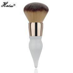 HaLu Super soft Round gourd Power brush Makeup Beauty brushes cosmetic tool Big Brush Blush Large Cosmetics Aluminum Brushes