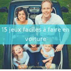 cliquez ici pour découvrir 15 jeux simples et faciles à faire en voiture avec vos enfants lors des longs trajets. Family Game Night, Book Images, Online Casino, Diy For Kids, Family Travel, Your Child, Coloring Books, Activities For Kids, Road Trip