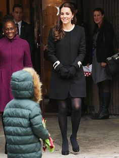 Kate Middleton Wears All-Black Outfit in NYC  #InStyle