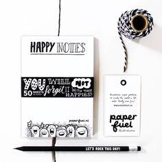Notitieblok potlood van Paperfuel koop je ook bij winkeltjevananne.nl