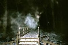 Gettysburg ghosts... I photoed something much like this several years ago at Devil's Den.