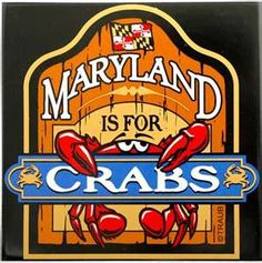 Maryland crabs were the best