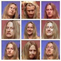 Jerry Cantrell - Awesome expressions from an early AIC's photoshoot Music Love, Music Is Life, Rock Music, Gerard Way, Mike Inez, Mike Starr, Grunge Hippie, Jerry Cantrell, Mad Season