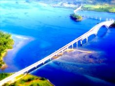 touch down someday San Juanico Bridge
