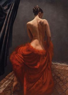 I would LOVE this painting in my home - Flamenco Dancer by Hamish Blakely - she is just stunning! Woman Painting, Figure Painting, Dress Painting, Figure Drawing, Hyper Realistic Paintings, Flamenco Dancers, Painted Ladies, Oeuvre D'art, Figurative Art