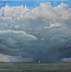 Running Before The Storm, by David Smith