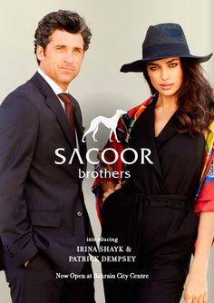 SACOOR brothers - Irina Shayk & Patrick Dempsey