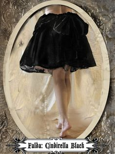 Cindirella Blacjk...   a magical skirt from Muriel Dal Bo to Sublime www.sublimstyle.com