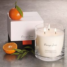 Orange Grove Large 3-Wick Candle