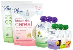 Babies deserve quality ingredients from the very first spoonful.  We believe in nourishing Generation Organic™ from the very beginning to ensure a healthy start! All of Plum Organics products are made with real organic ingredients in their simplest & purest form.  Plum Organics Food Starter Kit is the perfect choice for any tiny taster who's ready to explore the joy of eating!