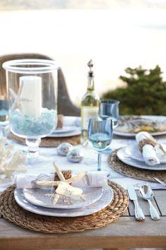 Pretty beachy summer tablescape #serendipity555 #wedding #matrimonio #nozze #summer Seguimi su www.facebook.com/Serendipity555