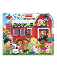 Fisher-Price Fisher Price Little People Lets Go to the Farm Board Book Board Book, Fisher Price, Little People, Future Baby, Letting Go, Snoopy, Let It Be, Comics, Books