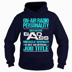 ON-AIR RADIO PERSONALITY  - BADASS T3 HD