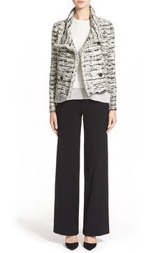 Vince Jacket, Blouse & Trousers available at #Nordstrom
