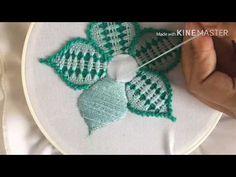 Beaded Flowers Patterns, Diy Embroidery Patterns, Flower Embroidery Designs, Cross Stitch Embroidery, Mehndi Designs, Needlepoint, Crochet Earrings, Weaving, Make It Yourself