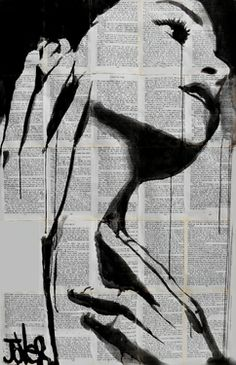 "Saatchi Art Artist Loui Jover; Drawing, ""feel"" #art #soldart"