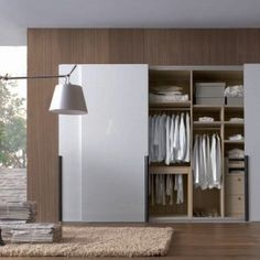 13 Inspiring & Stylish Wardrobe Designs:  Wardrobe Designs Photo 1: White Wardrobe
