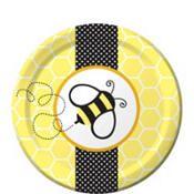 Bumblebee Baby Shower Dessert Plates 8ct