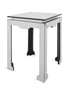Traditional Mirrored Accent Table - Gilt Home