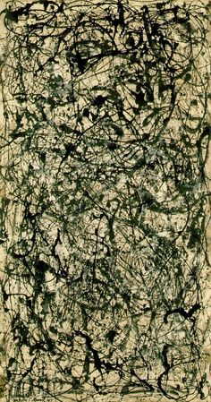 Number 26A ~Jackson Pollock