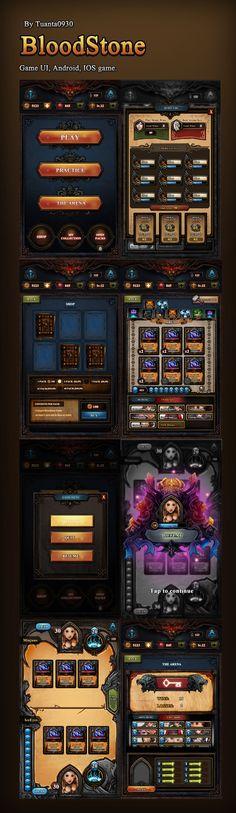 Blood Stone : Reski...@糖那个渣采集到游戏类UI界面神马的(2312图)_花瓣平面设计