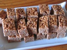 Krispies carambar, photo 1 Delicious Dinner Recipes, Yummy Food, Cooking With Kids, Curry Recipes, Pizza Recipes, Rice Krispies, Healthy Desserts, Biscuits, Snacks