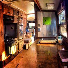 24' Bus to RV Conversion 1989 Cummins Diesel   eBay