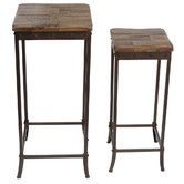 Found it at Joss & Main - Leighanne 2-Piece Nesting Table Set