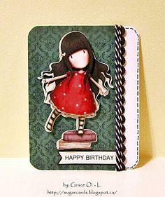 sugar cards: totally gorjuss birthday