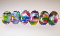 MTO Cathedral Window Large Spacer Beads glass-beadmaker-showcase