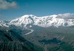 Wrangell - St. Elias, Alaska - This mountainous land has the convergence of the Alaska, Chugach, and Wrangell-Saint Elias Ranges, which have many of the continent's tallest mountains over 16,000 feet (4,900 m), including Mount Saint Elias. More than 25% of this park of volcanic peaks is covered with glaciers, including the tidewater Hubbard Glacier, piedmont Malaspina Glacier, and valley Nabesna Glacier.[60]