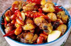 spicy chicken rezept