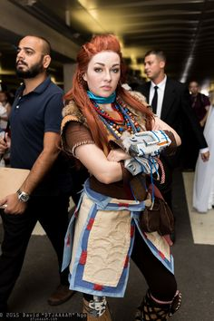 Aloy (horizon zero dawn) by Ely Renae Halloween Cosplay, Cosplay Costumes, Cosplay Ideas, Comic Book Characters, Female Characters, Horizon Zero Dawn Cosplay, Costume Armour, Video Game Cosplay, Fantasy World