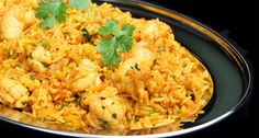 Golden rice and chicken - 2 teaspoons oil 1 lb. fresh chicken breast fillet 1 cup chopped onion 1 cup uncooked regular long-grain white rice 1/2 cup shredded carrot 1 teaspoon curry powder 1 teaspoon coriander 1/4 teaspoon salt 2 cup water   Heat oil in large nonstick skillet over …