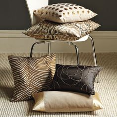 golds, browns, ivory | west elm