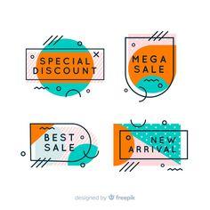 Banner Design Inspiration, Web Banner Design, Layout Design, Graphic Design Lessons, Graphic Design Fonts, Price Tag Design, Logos Retro, Logo Design Tutorial, Design Reference