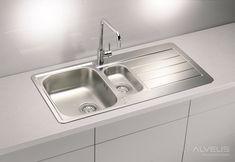 AS-Laredo 70 stainless steel kitchen sinks undermount Stainless Steel Double Sink, Undermount Stainless Steel Sink, Undermount Sink, Stainless Kitchen, Corner Sink Kitchen, Kitchen Sinks, Inset Sink, Sink Drain, Bathroom Sink Faucets