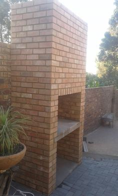 Now you can have a braai next to the lapa without fear of burning it down.