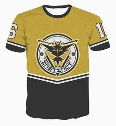 b6807be5 Men Women Hip Hop Swag t-shirt Valor 16 Letters t shirts Baseball Jersey  Tees. Pokemon Go ...