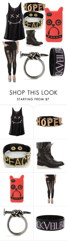 """Memories"" by morganamerica ❤ liked on Polyvore featuring H&M, Akira, Boohoo and Marc by Marc Jacobs"