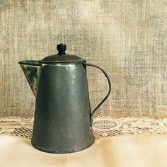 Vintage Rustic Coffee Pot