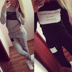 Fashion Sportswear Printed Letter Tracksuit Long-sleeve Casual Sports Costumes 2 Piece Set Women