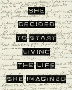 What is holding you back form living the life you imagine?