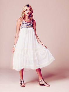 Free People - Kristal's Limited Edition White Summer Dress