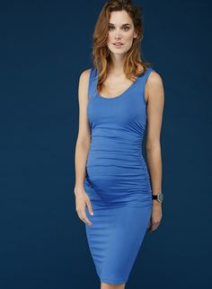 Ellis Maternity Tank Dress in [colour] at Isabella Oliver. Discover the leading British maternity fashion brand for chic, premium quality maternity clothes. Maternity Wear, Maternity Dresses, Maternity Fashion, Maternity Photography Poses, Dresses For Work, Formal Dresses, Pretty Outfits, Pretty Clothes, Tank Dress