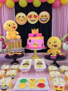 emoji Birthday Party Ideas | Photo 1 of 165
