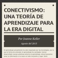 Infographic: Conectivismo:            Una teoría de aprendizaje para la era digital