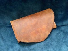 Italian Leather Tobacco Pouch / Waxed & Distressed by HarrismaLeatherGoods, $24.45