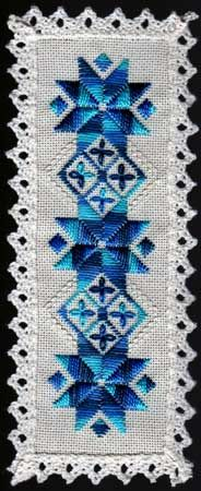 Awesome Hardanger Bookmark from Nordic Needle. See more hardanger on my blog http://yousewshould.blogspot.co.uk